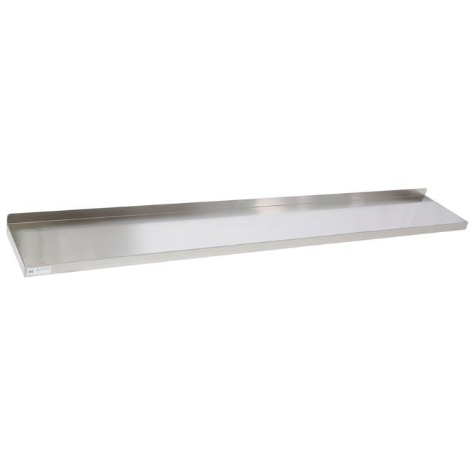 Atlantic Metalworks WS-1272-E Stainless Steel Wall Shelf