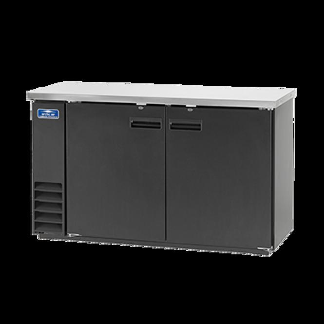 """Arctic Air ABB60 61"""" Back Bar Refrigerator - Solid Doors"""