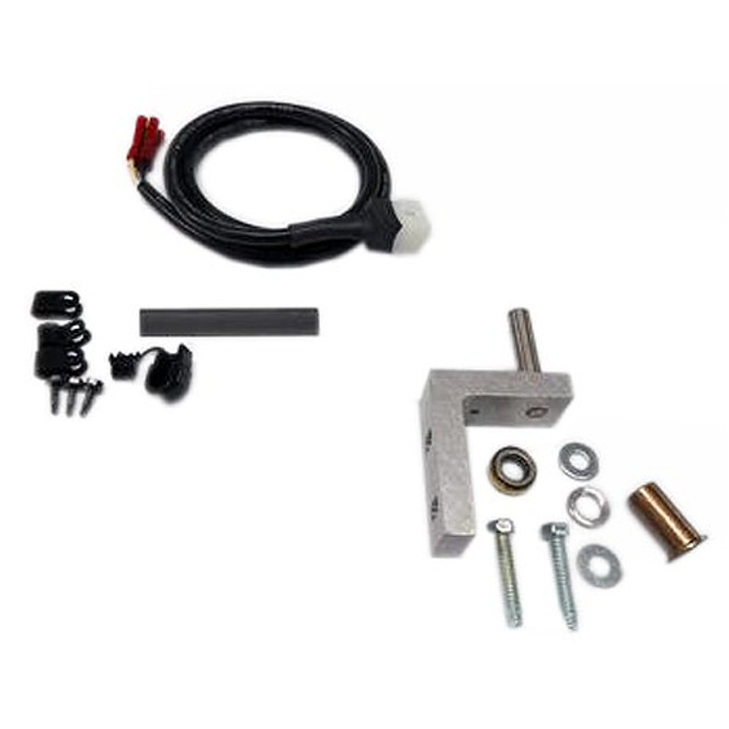 Image of the True 925016 bottom left hinge and power cord kit