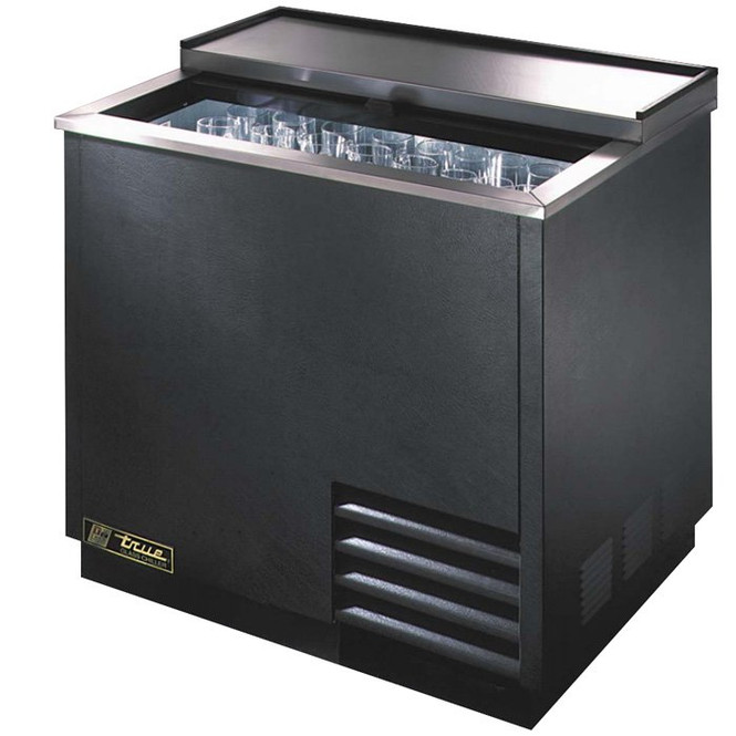 """True T-36-GC Glass and Plate Chiller/Froster - 36"""""""