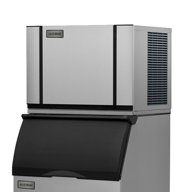 Ice-O-Matic Elevation Series CIM0330FA 295 lbs./day Modular Cube Ice Maker - Air Cooled with bin