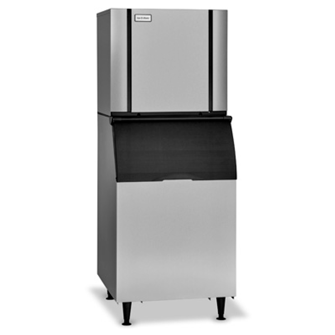 Ice-O-Matic Elevation Series CIM1136 Air-Cooled Modular Ice Machine with the B110PS Ice Storage Bin and KBT5 Adapter Kit