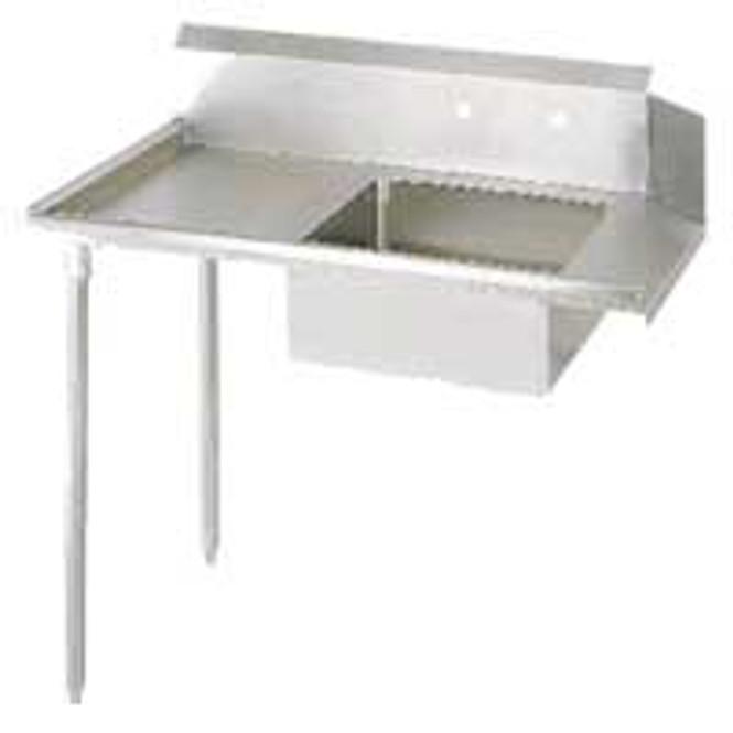 "BK Resources BKSDT-48-L - Soiled Dish Table 48"""
