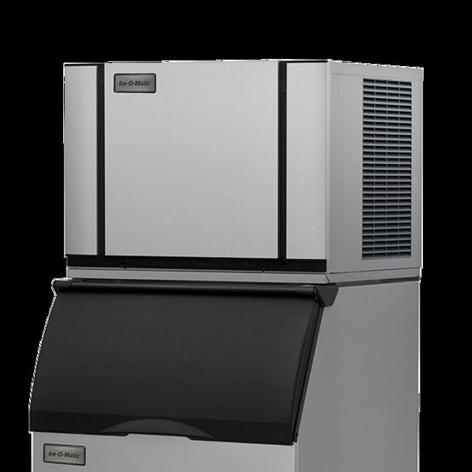 Ice-O-Matic Elevation Series CIM0330 Air-Cooled Modular Ice Machine and B25PP Ice Storage Bin
