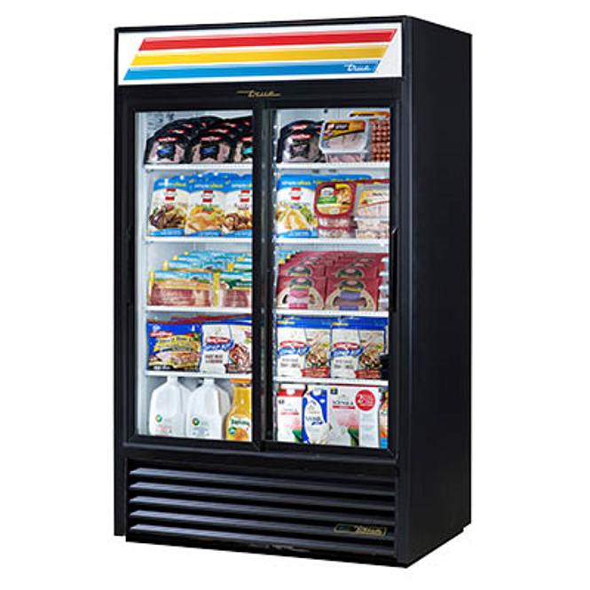 True GDM-41-HC-LD Refrigerated Sliding Glass Door Merchandiser