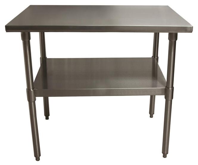"BK-Resources - VTT-4830 Stainless Steel 48"" x 30"" Worktable"
