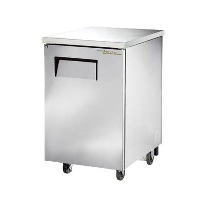 The True TBB-1-S-HC Back Bar Cooler sitting against a white background