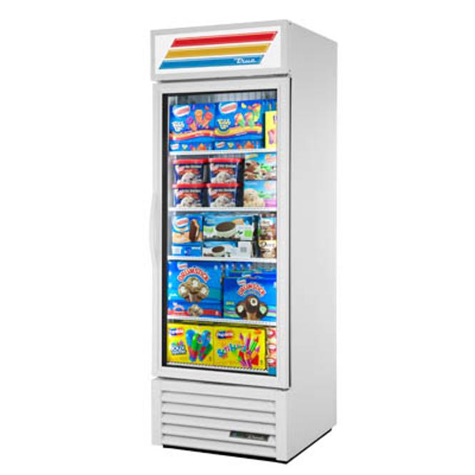True GDM-23F-HC~TSL01 Standard Glass Swing Door Merchandising Freezer