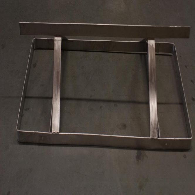 "OPEN BOX - NEW | Ceiling Mounted Pot Rack - 48"" x 12"" - PR-CM-48-SS"