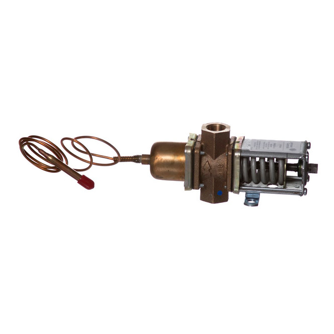 Side view of the Ice-O-Matic 9041059-01 Water Regulator