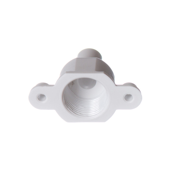 Top view of the Ice-O-Matic 9091140-01 Fitting Drain