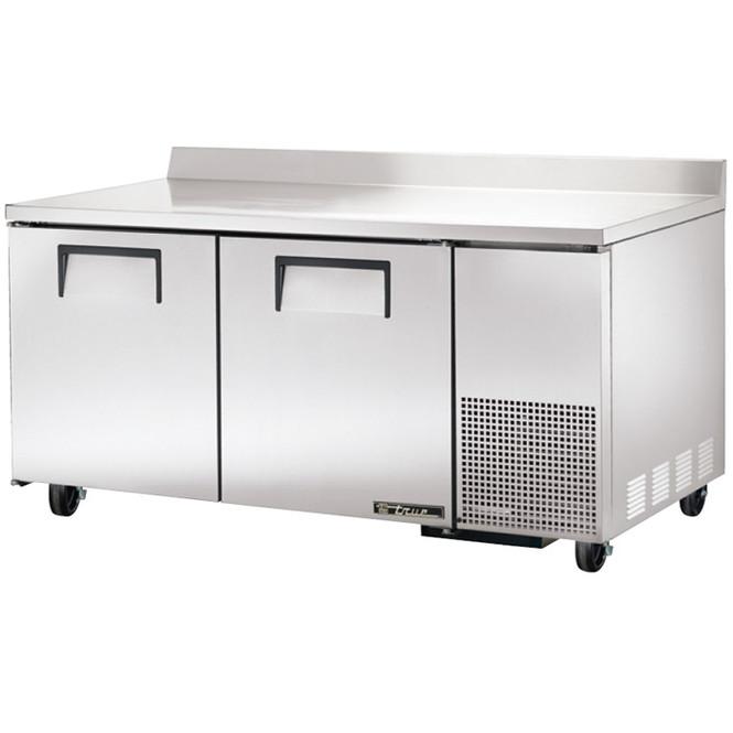 """TWT-67 True 67"""" 2 Door Deep Worktop Refrigerator"""