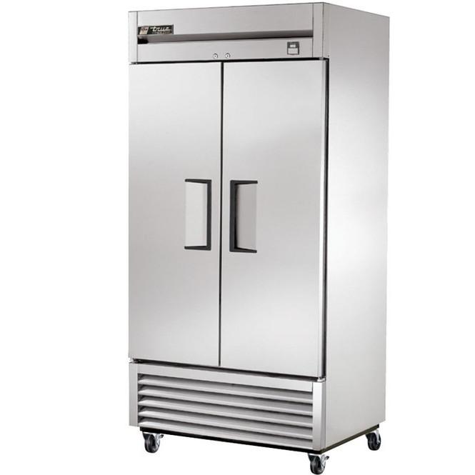 TS-35F True 35 Cu. Ft. Stainless Steel 2 Door Freezer
