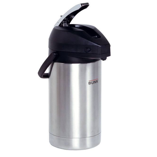 Bunn 3 Liter Lever Action Airpot Coffee Pot 32130.0000