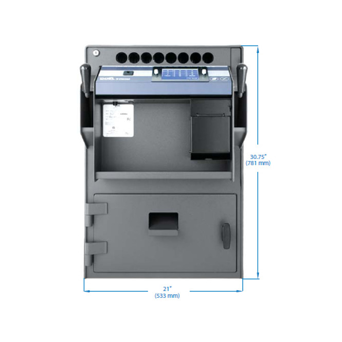 Timed Access Cash Controller Safe w/Integrated Printer - Tidel TACCIII