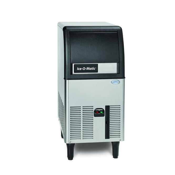 84 lbs/day Cube Ice Maker w/Storage Bin - Ice-O-Matic ICEU070A