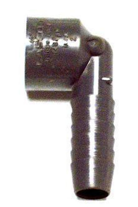 Image of the True 810209 grey swivel elbow drain