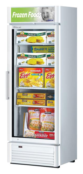 Turbo Air TGF-15SDW-N - 13.2 cu. ft. Glass Door Merchandising Freezer