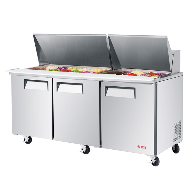 Picture of a Turbo Air EST-72-30-N-V - Sandwich Prep Table