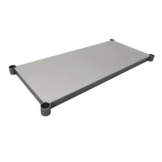 """Atlantic Metalworks STT-2448-US - 48"""" x 24"""" Stainless Steel Undershelf"""