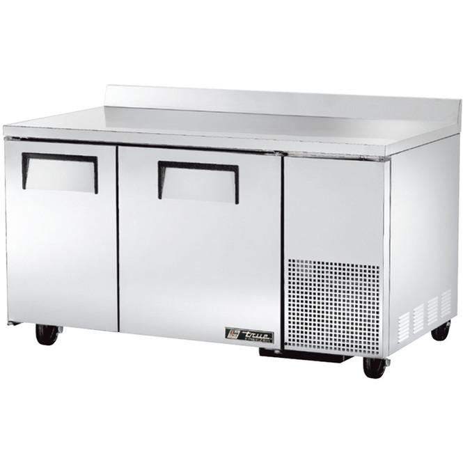 """TWT-60-32F True 60"""" 2 Door Deep Worktop Freezer"""