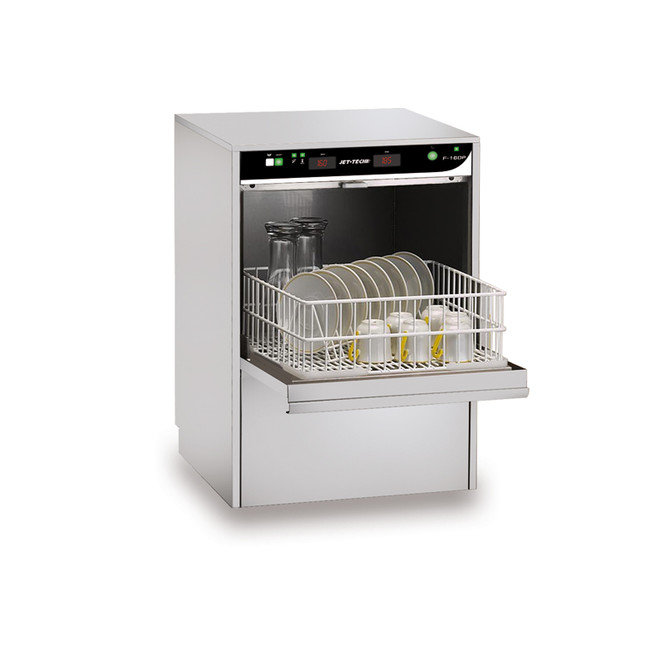 Jet-Tech F-16DP High-Temp Undercounter Cup and Glass Washer