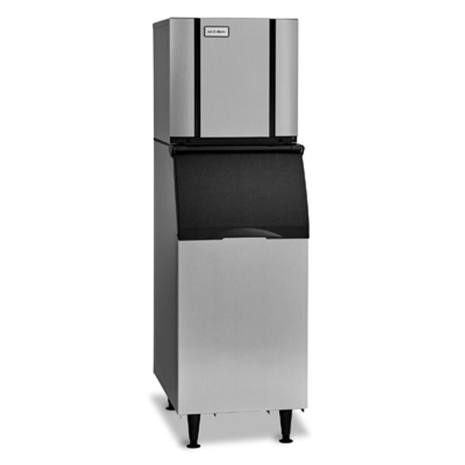 Ice-O-Matic Elevation Series CIM0320 Air-Cooled Modular Ice Machine and B42PS Ice Storage Bin