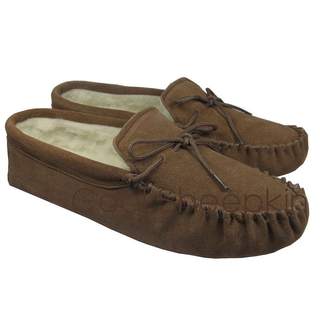Men's Moccasins With A Soft Sole