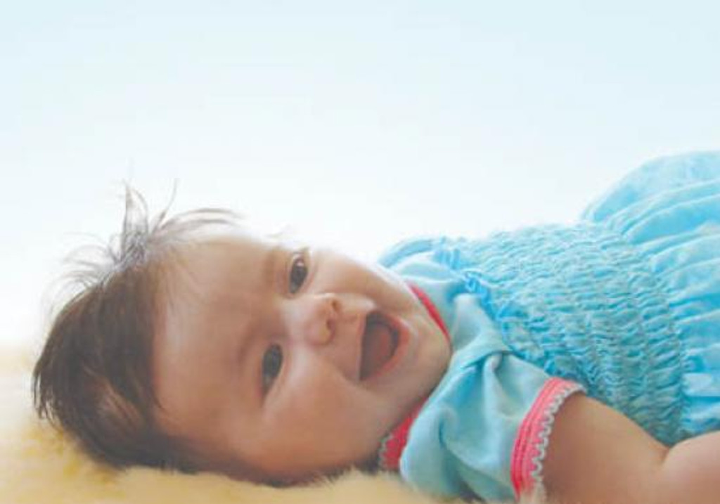Baby Sheepskin Rug - Short Wool