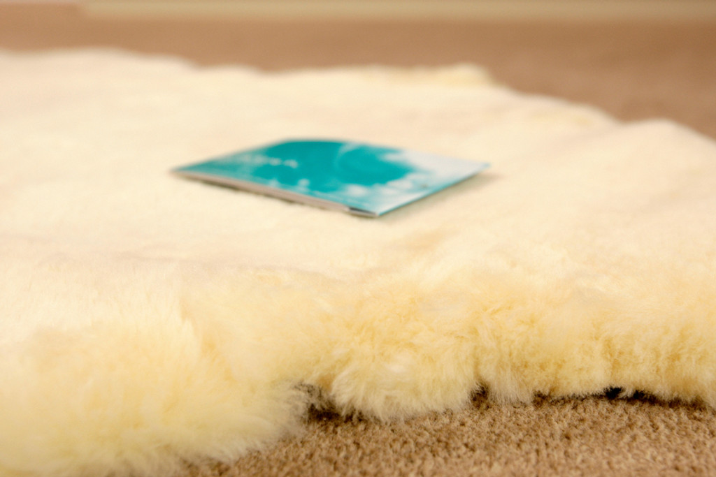 Medical Sheepskin Rug - Fleece Ease 110 cm length