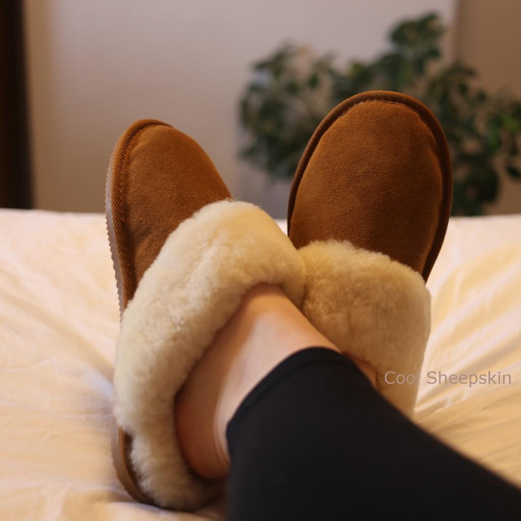Sheepskin Mule Slippers - Anna