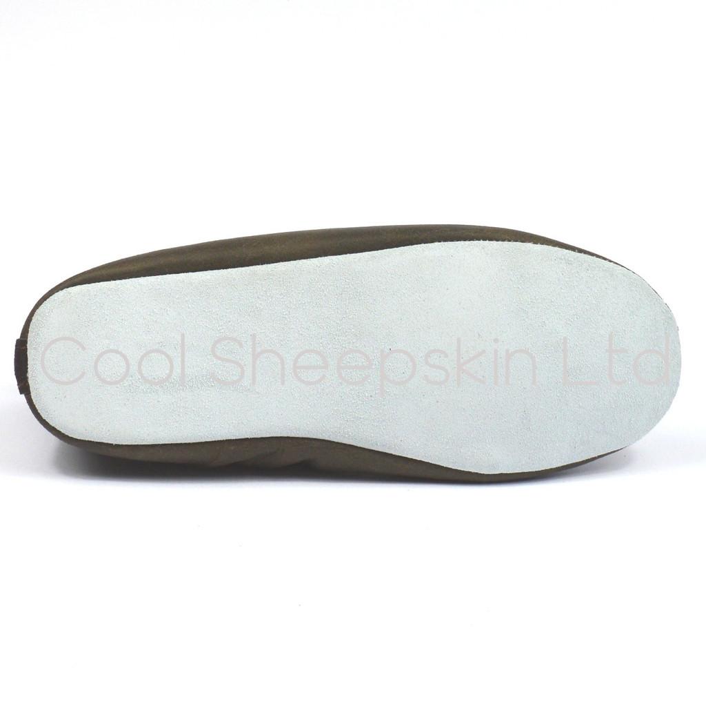 Henrik Sheepskin Slippers With Soft Sole