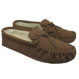 Men's Moccasin Slippers - Soft Sole