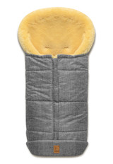 Sheepskin Cozy Toes - Grey Melted