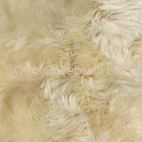 Soft Natural Longwool Lambskin For Babies - Honey