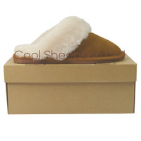 Annie Sheepskin Mule Slippers