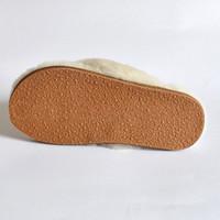 Sole of Sheepskin Flip-Flop