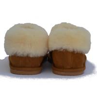Sheepskin Lined Low Slipper Boot