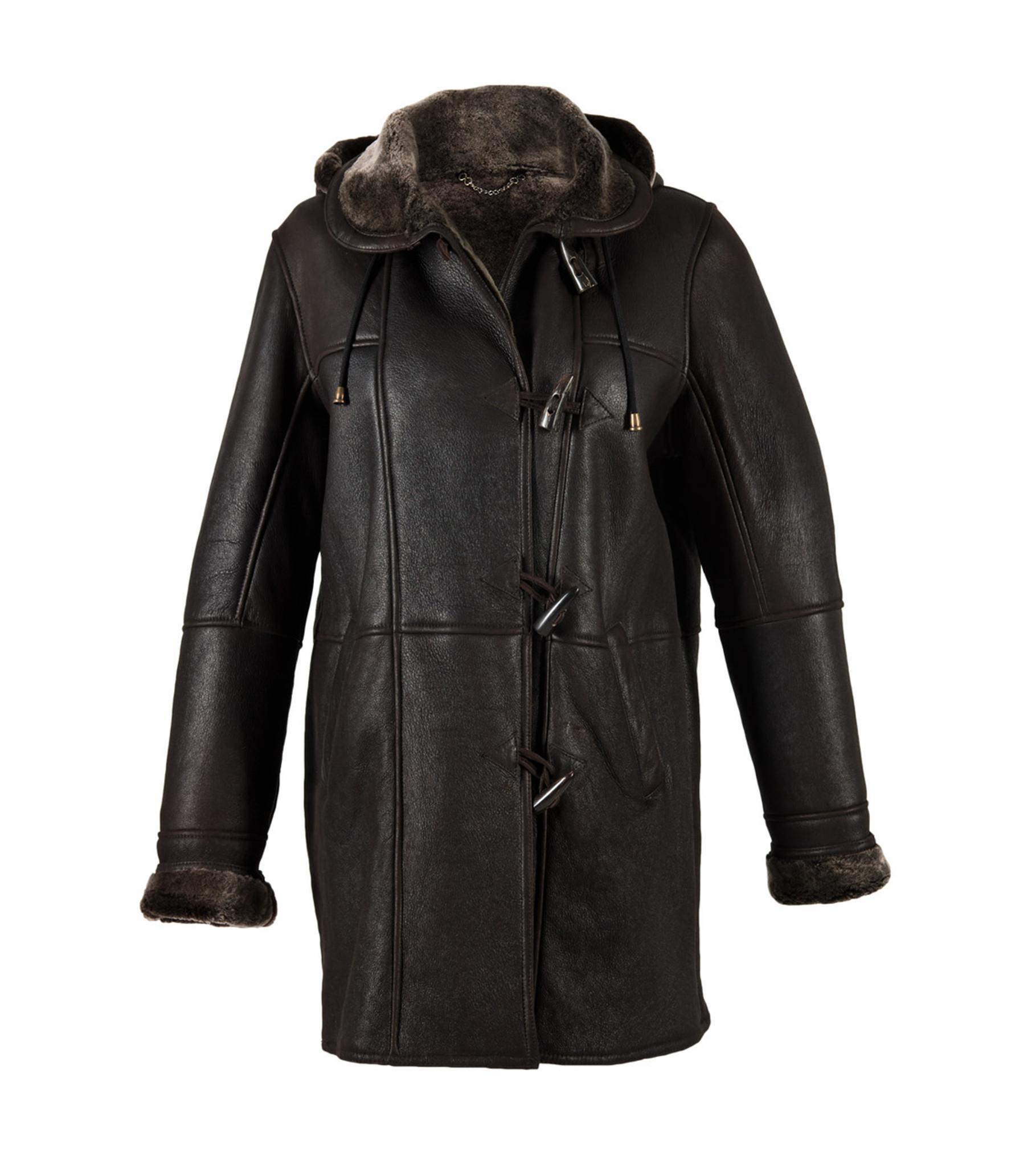 3b1e625606 Sheepskin Duffle Coat - Millie Sold By Cool Sheepskin UK