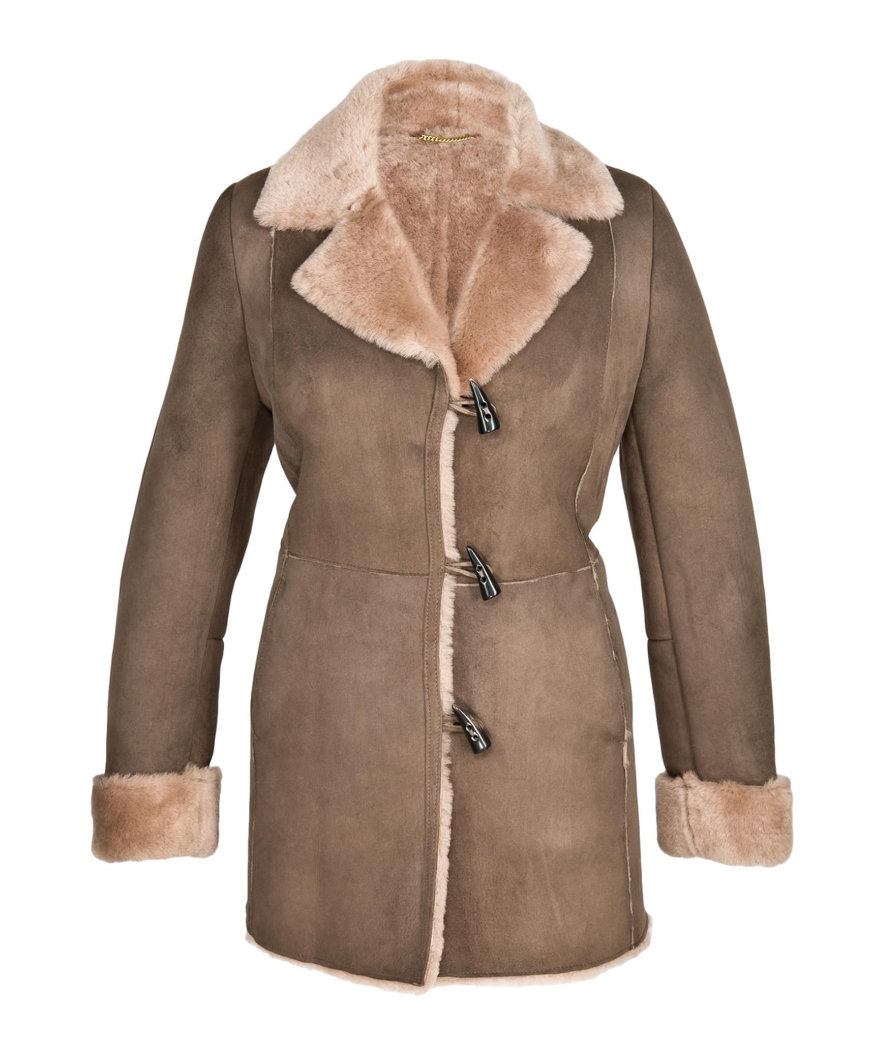 618089321d Anna Sheepskin Coat For Women - Cool Sheepskin UK