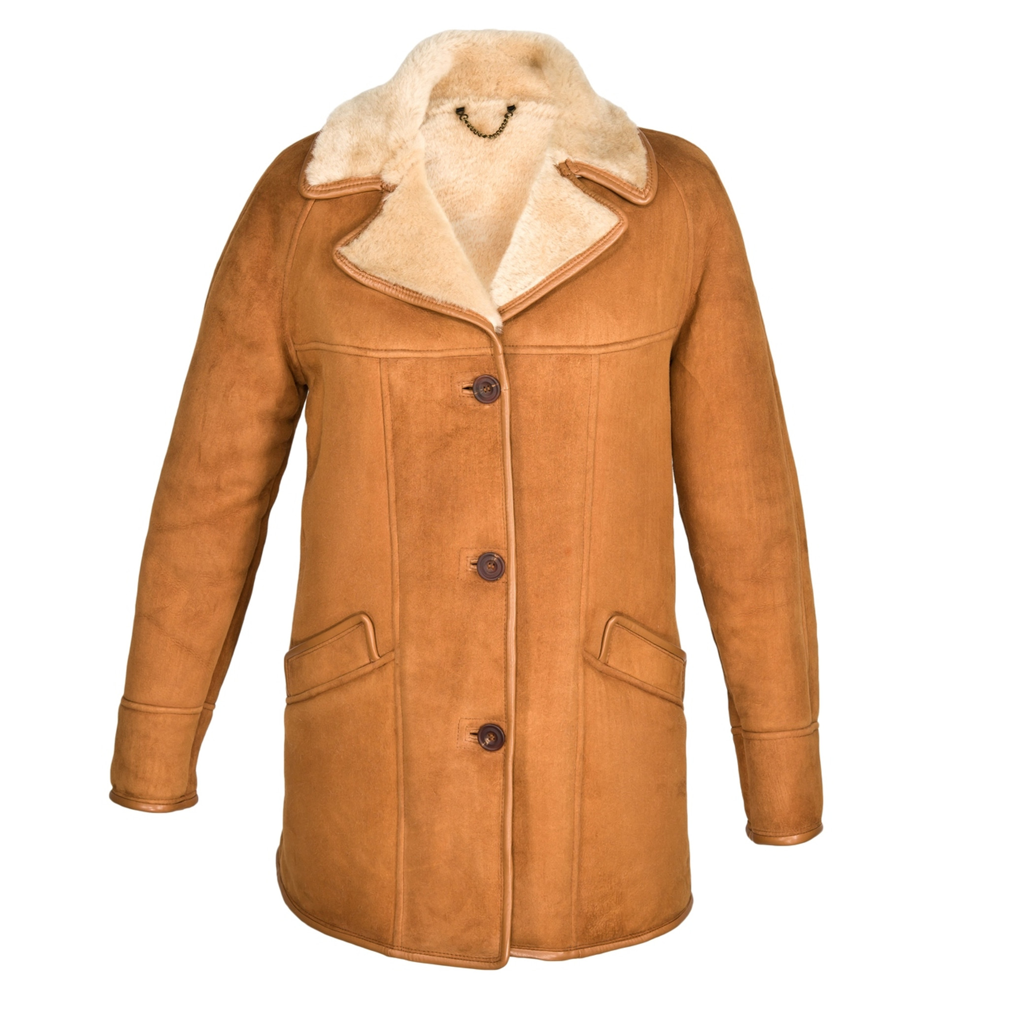e5ad183b1c Ladies April Sheepskin Coat - Free Delivery From Cool Sheepskin UK