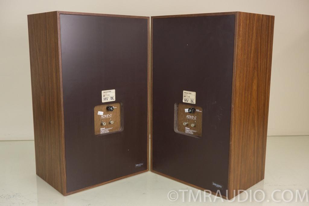 advent 4002 2 way bookshelf speakers new foam surrounds. Black Bedroom Furniture Sets. Home Design Ideas