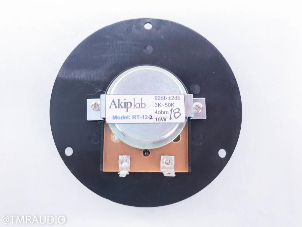 "Akip Lab 1"" Circular Ribbon Tweeter; Infinity / Genesis (New Old Stock)"