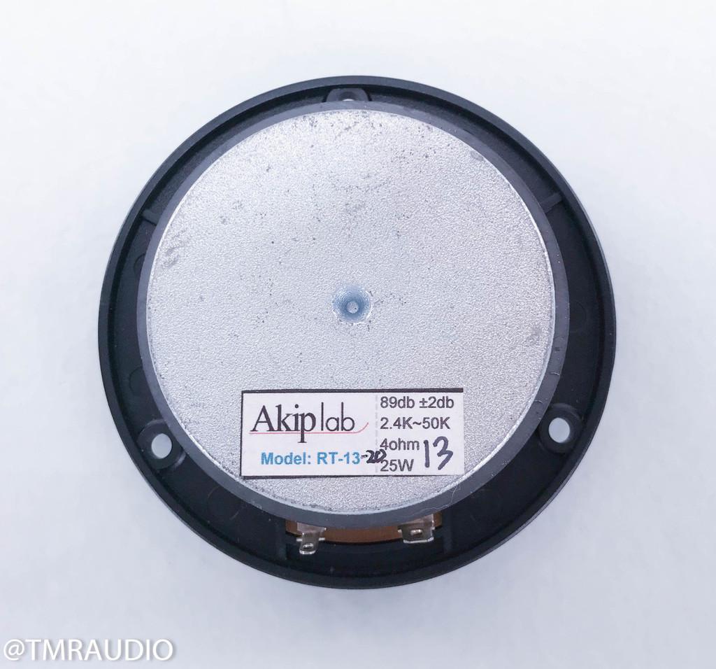 "Akip Lab 1"" Circular Ribbon Tweeter; RT-13; Infinity / Genesis (New Old Stock)"