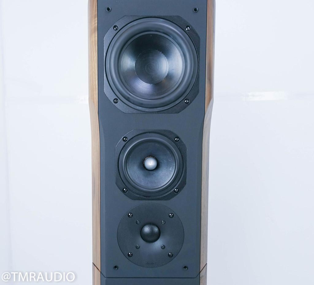 Chario Ursa Major Floorstanding Speakers; Walnut Finish (New / Old Stock)