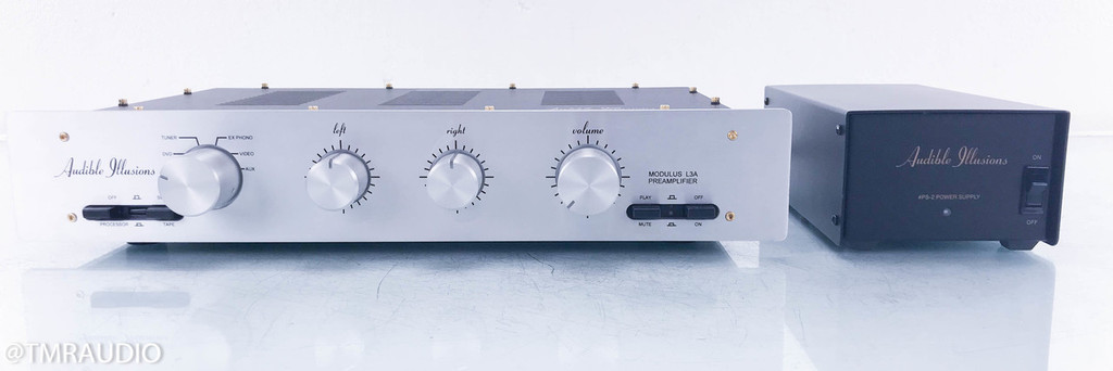 Audible Illusions Modulus L3A Stereo Tube Hybrid Preamplifier; L3-A (No Remote)