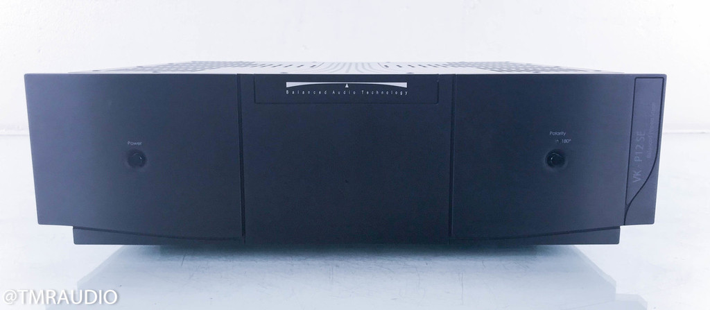 BAT VK-P12SE Balanced Tube Phono Preamplifier; VKP12SE