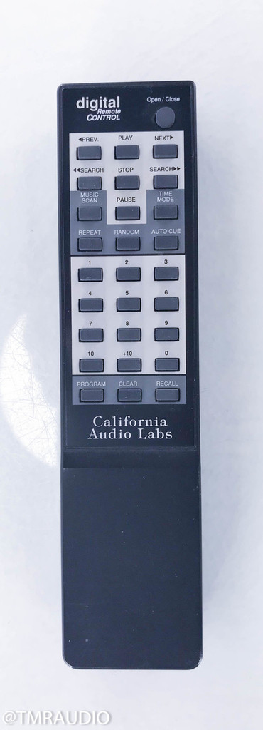 California Audio Labs Delta CD Transport; Remote