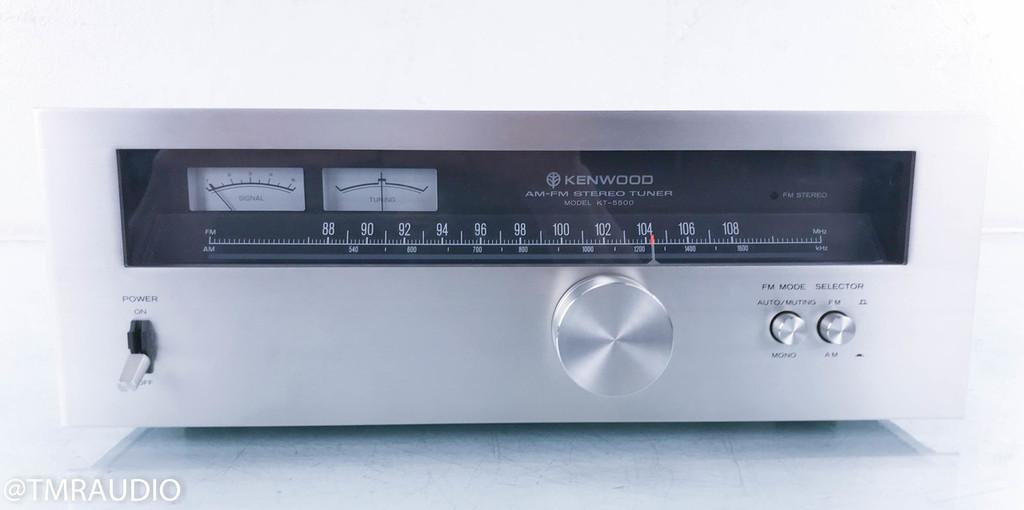 Kenwood KT-5500 Vintage AM / FM Tuner