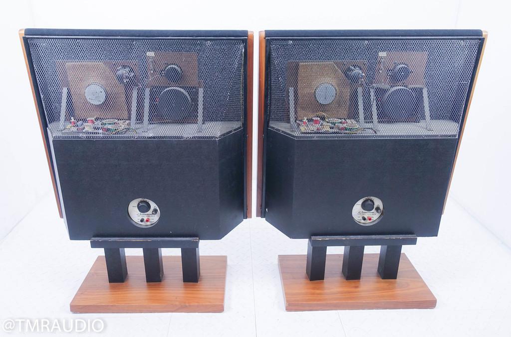 Dahlquist DQ-10 Floorstanding Speakers; Walnut Pair; DQ10; AS-IS (Cabinet Buzz)